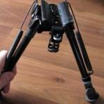 Shooters Ridge Rock Mount Bipod legs extended