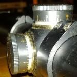 Bushnell Elite 6500 adjustment marks
