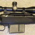Savage 111 Long Range Hunter 338 Lapua Magnum Action