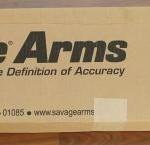 Savage 111 Long Range Hunter box