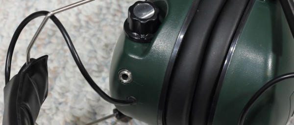 Caldwell power muffs headset jack
