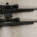 Size comparison of Savage LRH 338 Lapua