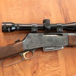 Browning BLR with Magazine in