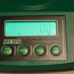 RCBS Chargemaster combo scale readout
