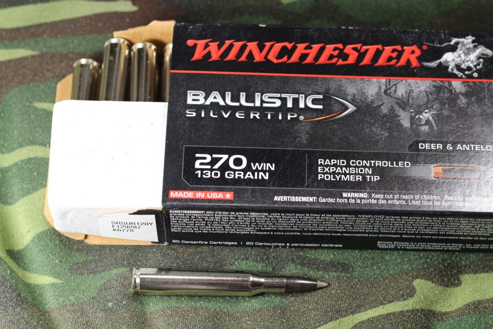 What is the most accurate 130 grain 270 Winchester? | The