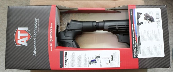 ATI Talon Remington 870 Shotgun stock box