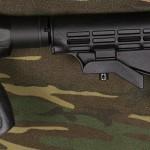 Alternative M4 stock installed