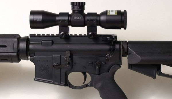 Nikon Mounted on AR15
