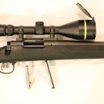 Remington 700 SPS tactical field stripped