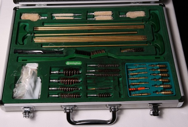 Remington Targetmaster Delux cleaning kit inside
