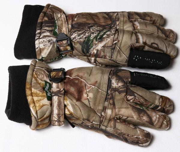 Remington gloves palm down