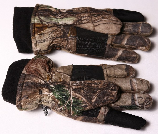 Remington insulated gloves palms open