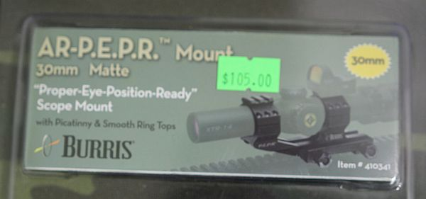 Pepr mount label
