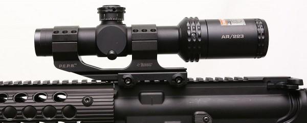 Side AR mount detail