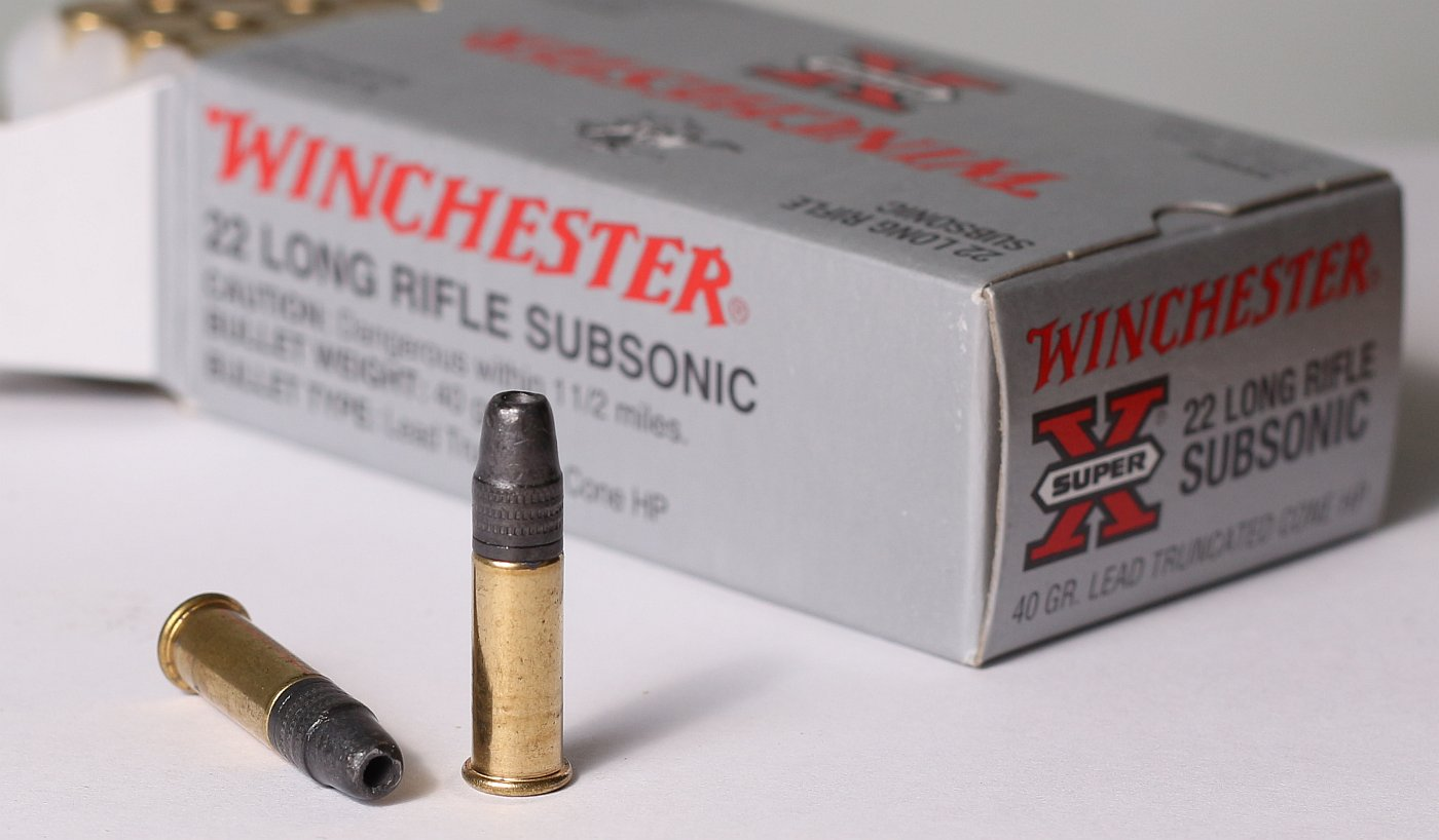 Winchester 22 Long Rifle Subsonic Review | The Hunting Gear Guy