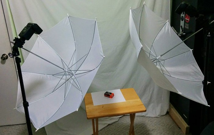 Photo lighting setup