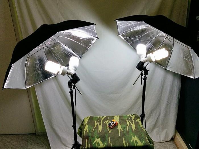 My video lighting setup