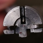 Savage 17 HMR bolt face detail