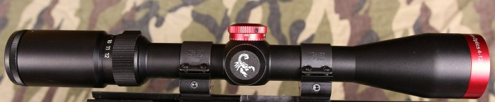 Scorpion Optics side