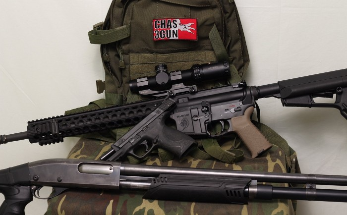 CHAS 3 gun