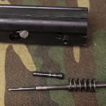 Remove firing pin and firing pin spring