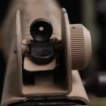 AR180B peep sight