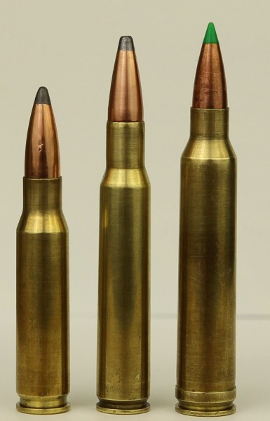 308, 30-06, and 300 Win Mag
