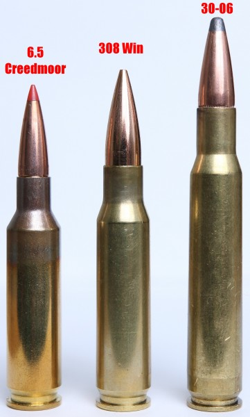 6.5 Creedmoor vs 308 vs 30-06