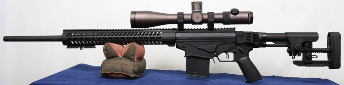 Ruger Precision Rifle with scope