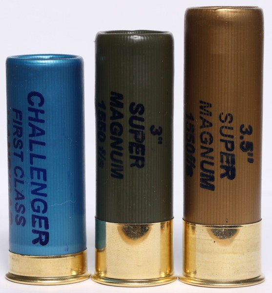 2 3/4 vs 3 inch vs 3.5 inch shotgun shells