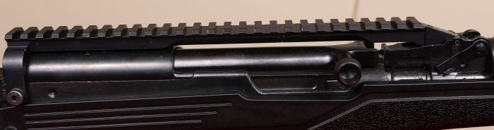 sks scope mount rail