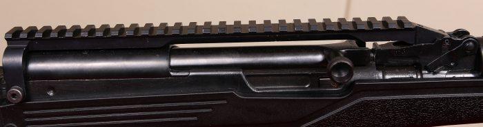 sks scope mount rail