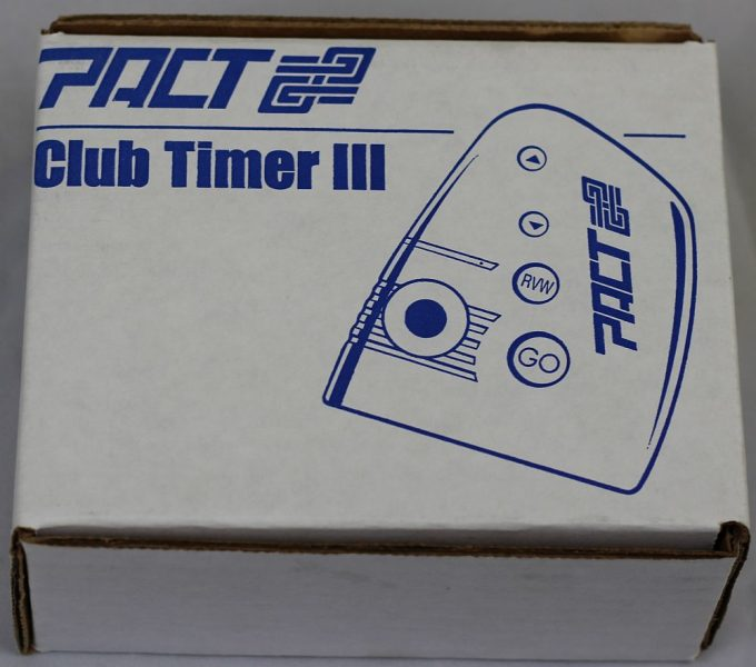 Pact club timer 3 in box