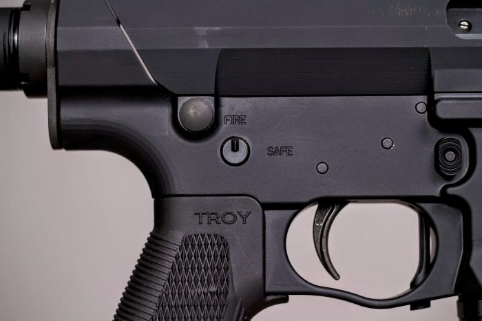 Troy PAR fire controls