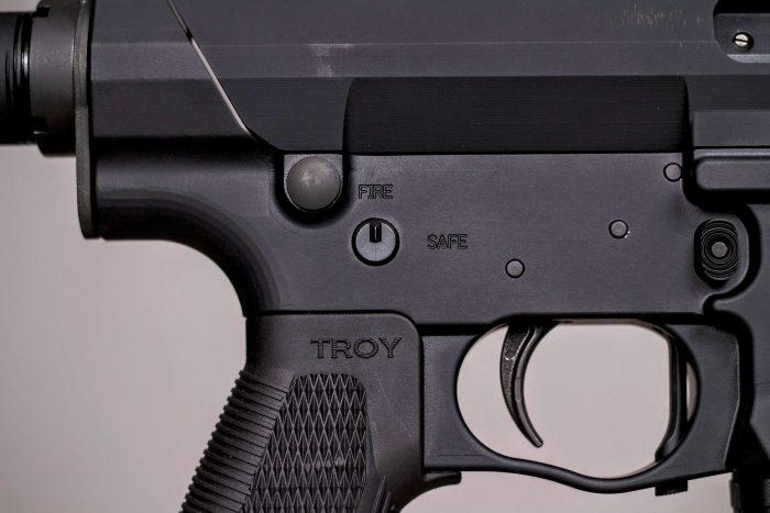 Troy PAR fire controls