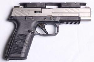 multimag holding pistol