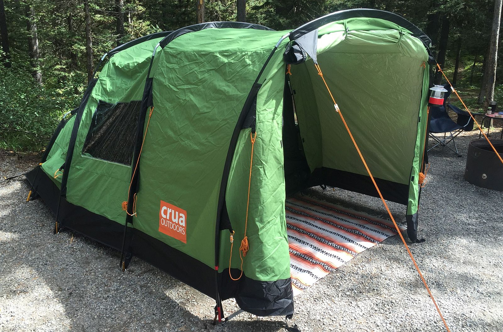 ... her butt off in your crappy tent or you just want to get a better nightu0027s rest c&ing without having to haul a trailer take a look at the Crua Tri. & Crua Tri Insulated Tent Review | The Hunting Gear Guy