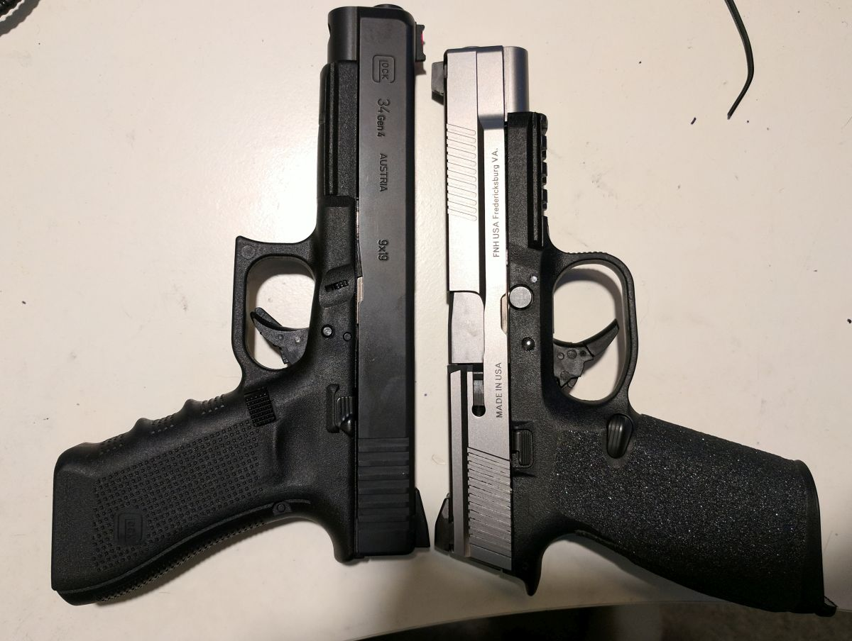 FNS9L vs Glock34 for 3 Gun | The Hunting Gear Guy
