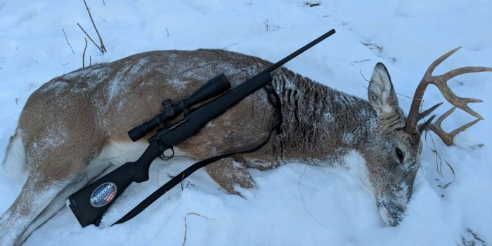 Mossberg Patriot Deer Hunting