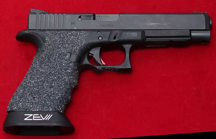 Silicon Carbide Grip Glock